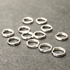 .925 Sterling 6MM Round Split Ring (24Pc/Pk)