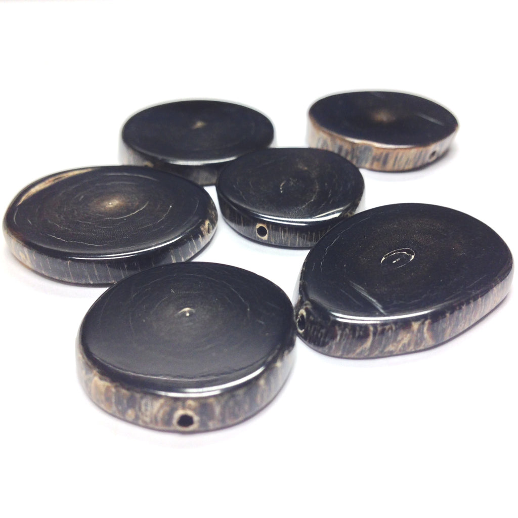 Horn Disc Bead (12 pieces)