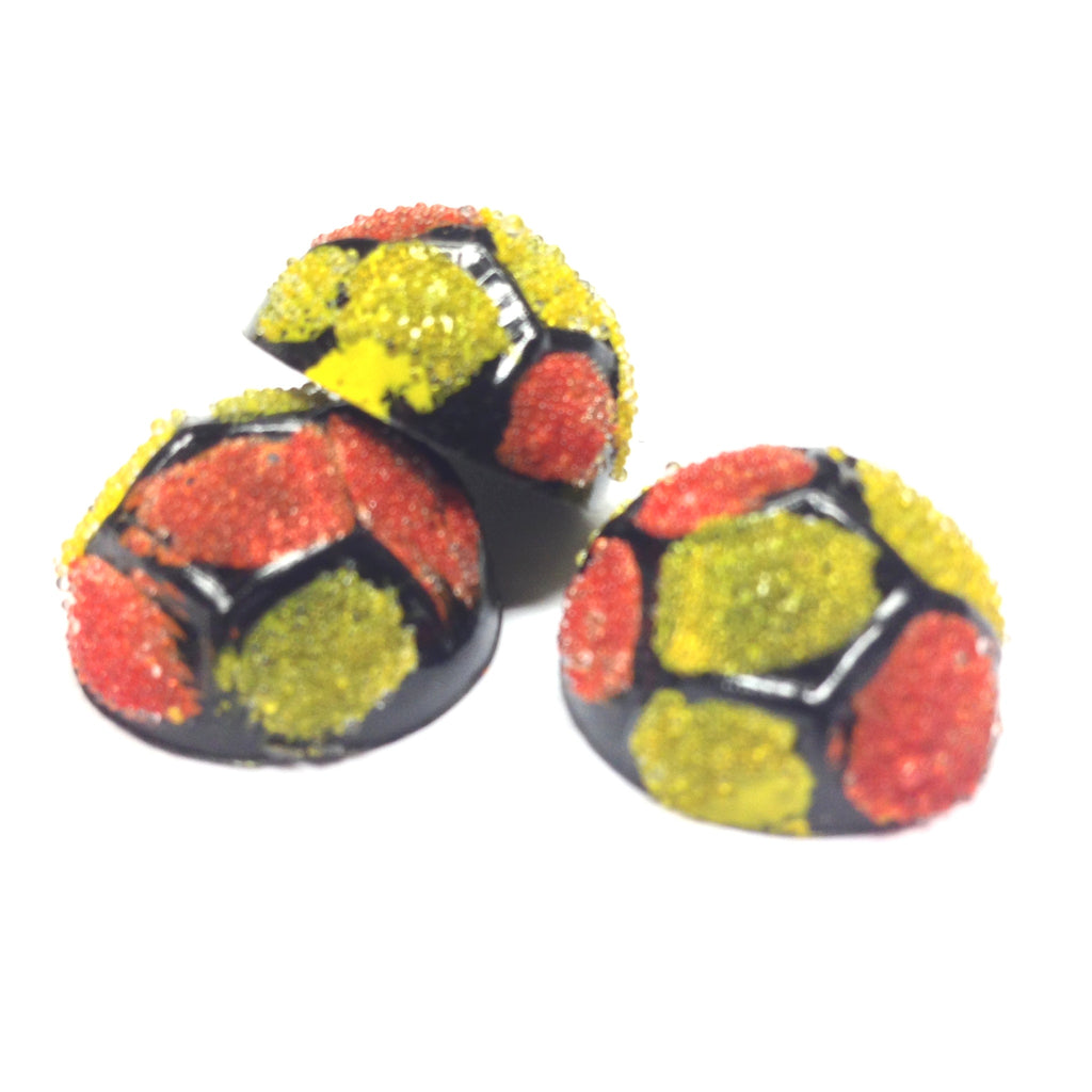 20MM Orange/Yellow Spotted Cab (12 pieces)