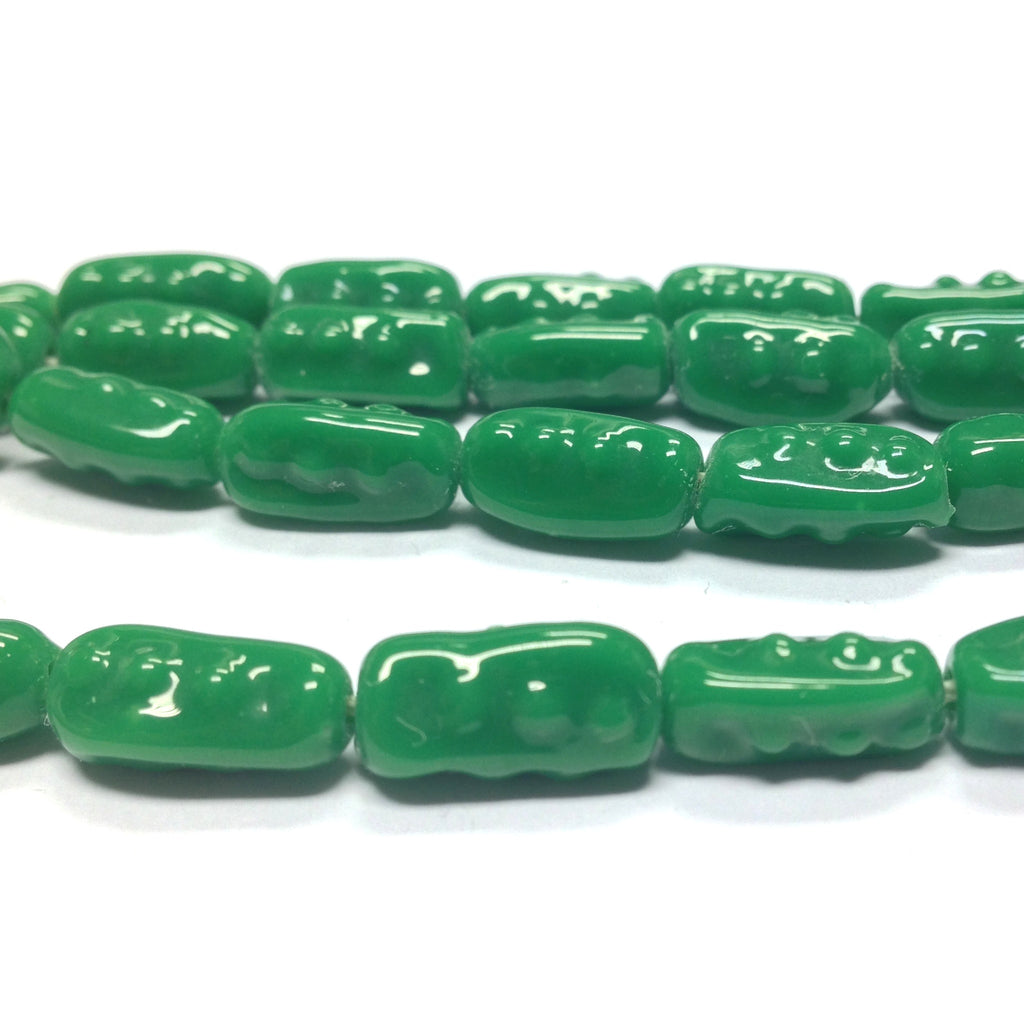 13X7MM Jade Baroque Glass Bead (110 pieces)