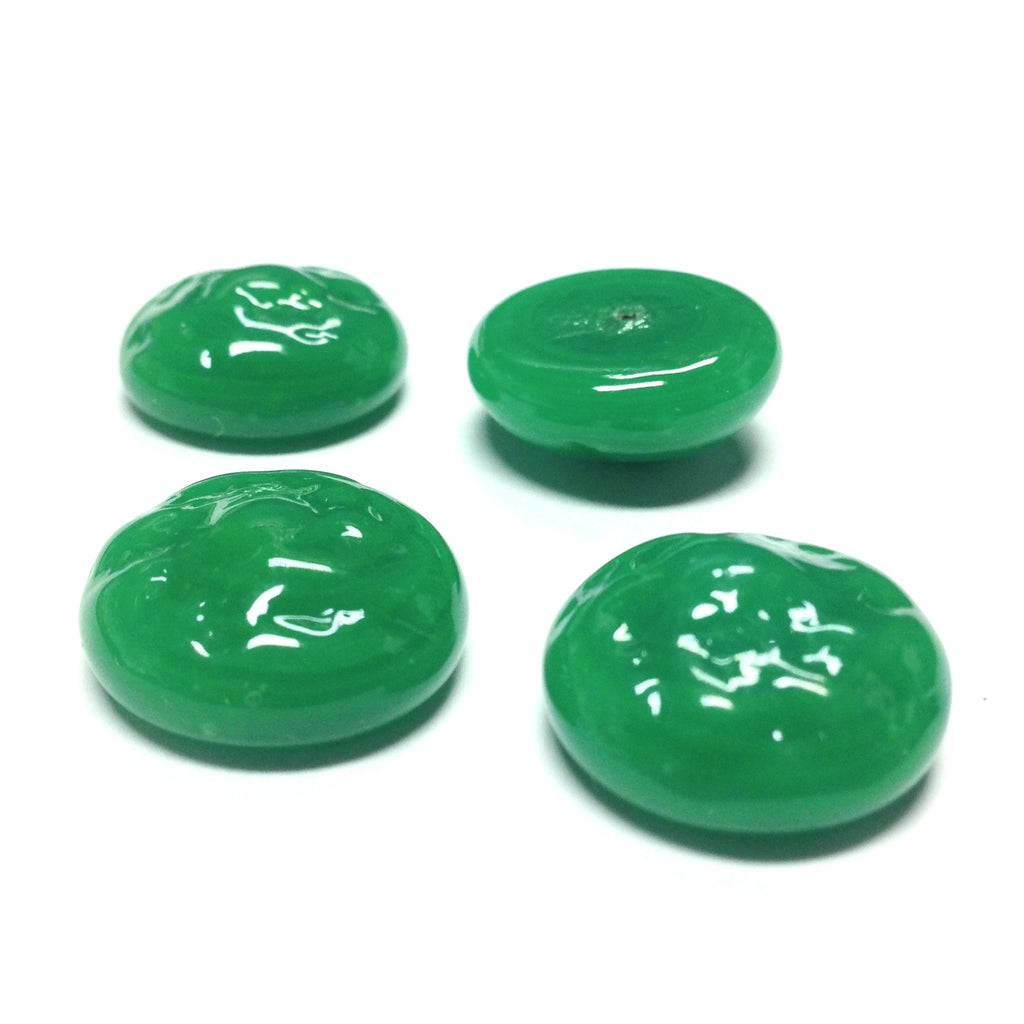 18MM Jade Glass Baroque Cab (12 pieces)