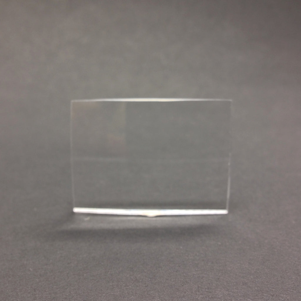 37X27MM Rectangle Crystal Plexi Magnifying Lens (4 pieces)