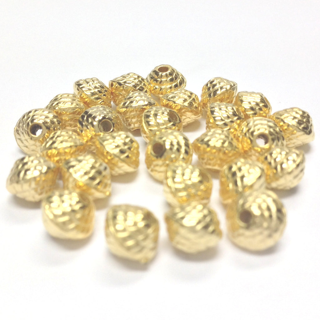 6MM Hamilton Gold Rope Bead (144 pieces)