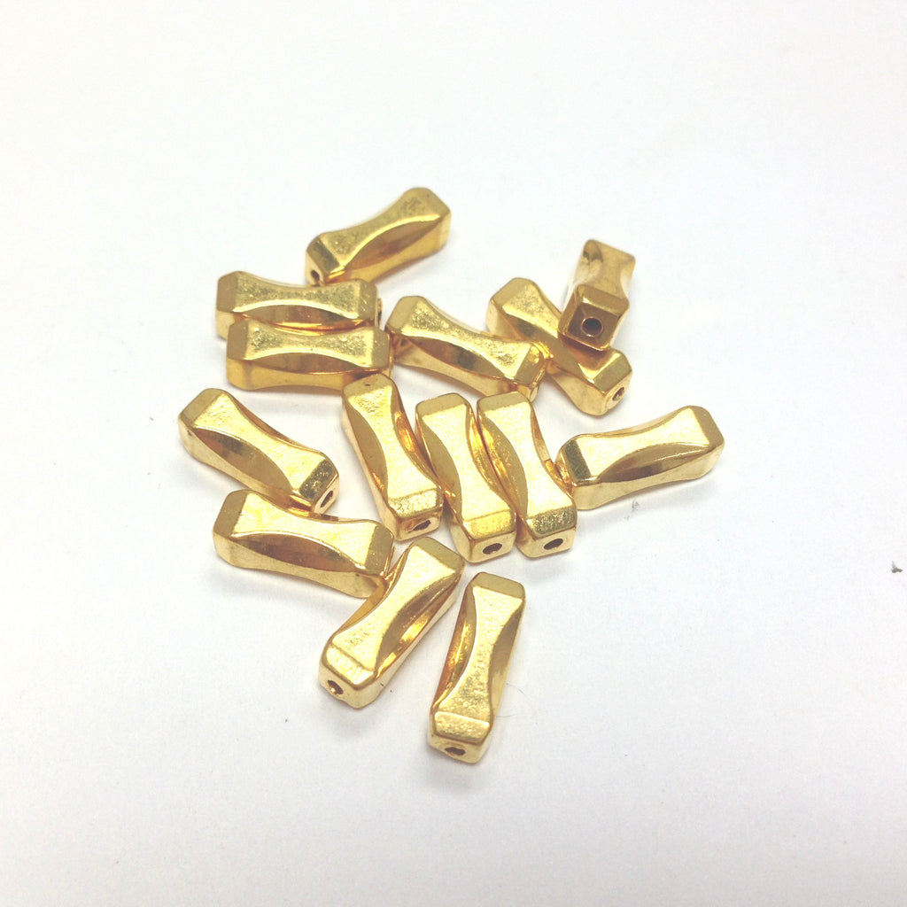 10X5MM Gold Tube Bead (144 pieces)