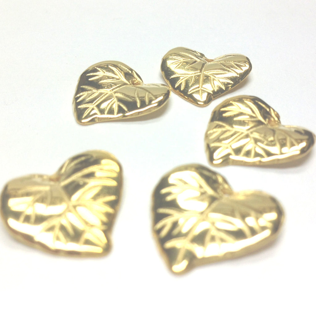 15MM Hamilton Gold Leaf Drop (72 pieces)