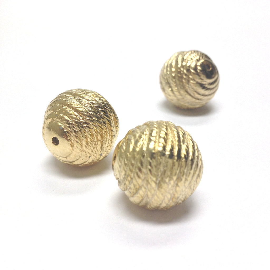 16MM Round Rope Bead (24 pieces)