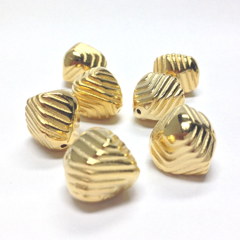 10MM Hamilton Gold Baroque Bead (36 pieces)