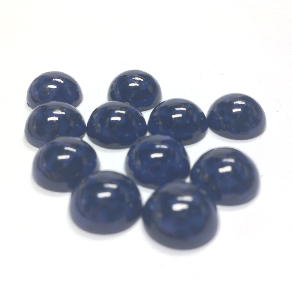 10MM Blue/Black Dappled Cab (72 pieces)