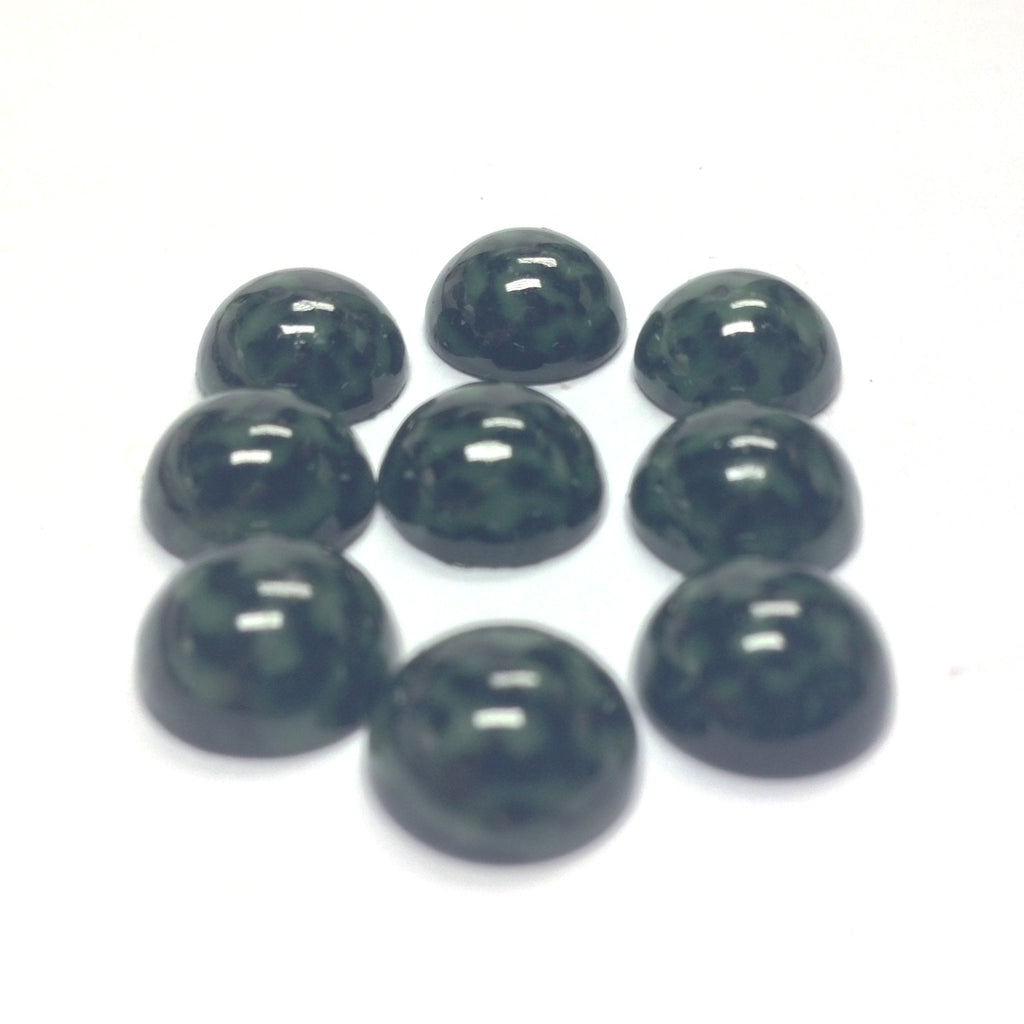 10MM Green/Black Dappled Cab (72 pieces)