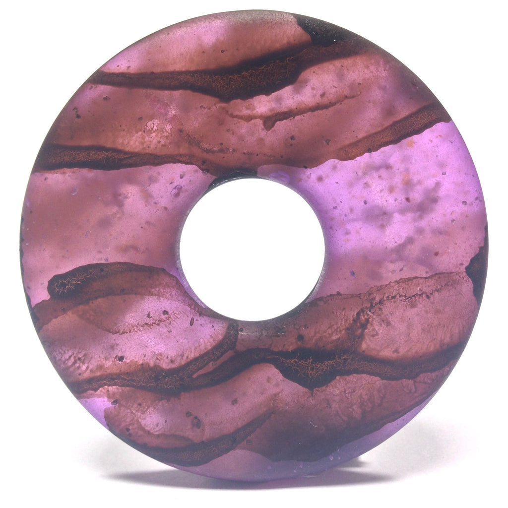 "60MM Purple Mat ""Haze"" Ring (2 pieces)"
