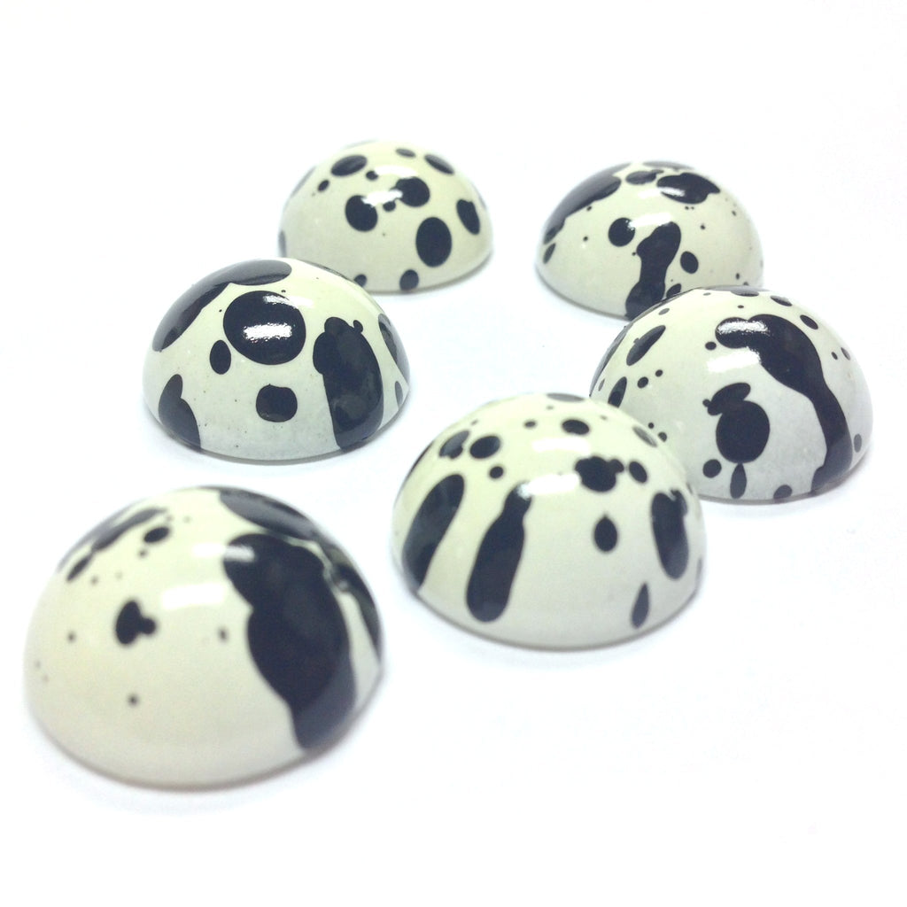 "18MM ""Dalmation"" Highdome Cab (12 pieces)"
