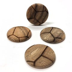 "25MM ""Legno Shell"" Wood Cab (12 pieces)"