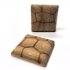 "25MM ""Legno Shell"" Wood Square Cab (6 pieces)"
