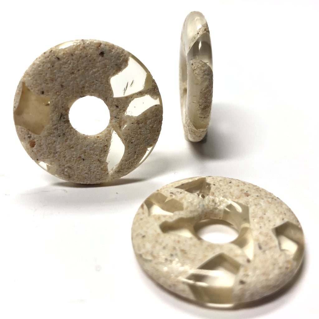 "27MM ""Sand Resin"" Ring (6 pieces)"