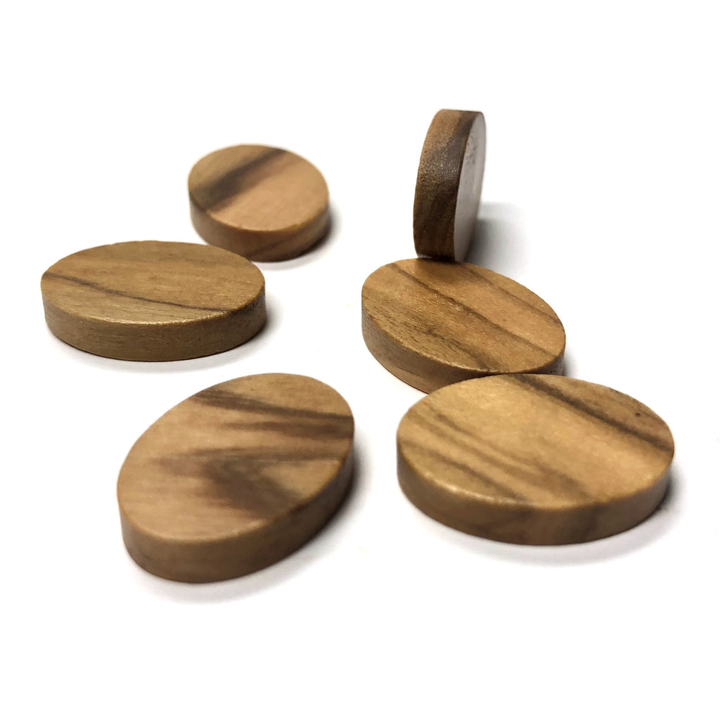 14X10MM Olivewood Oval Cab (12 pieces)