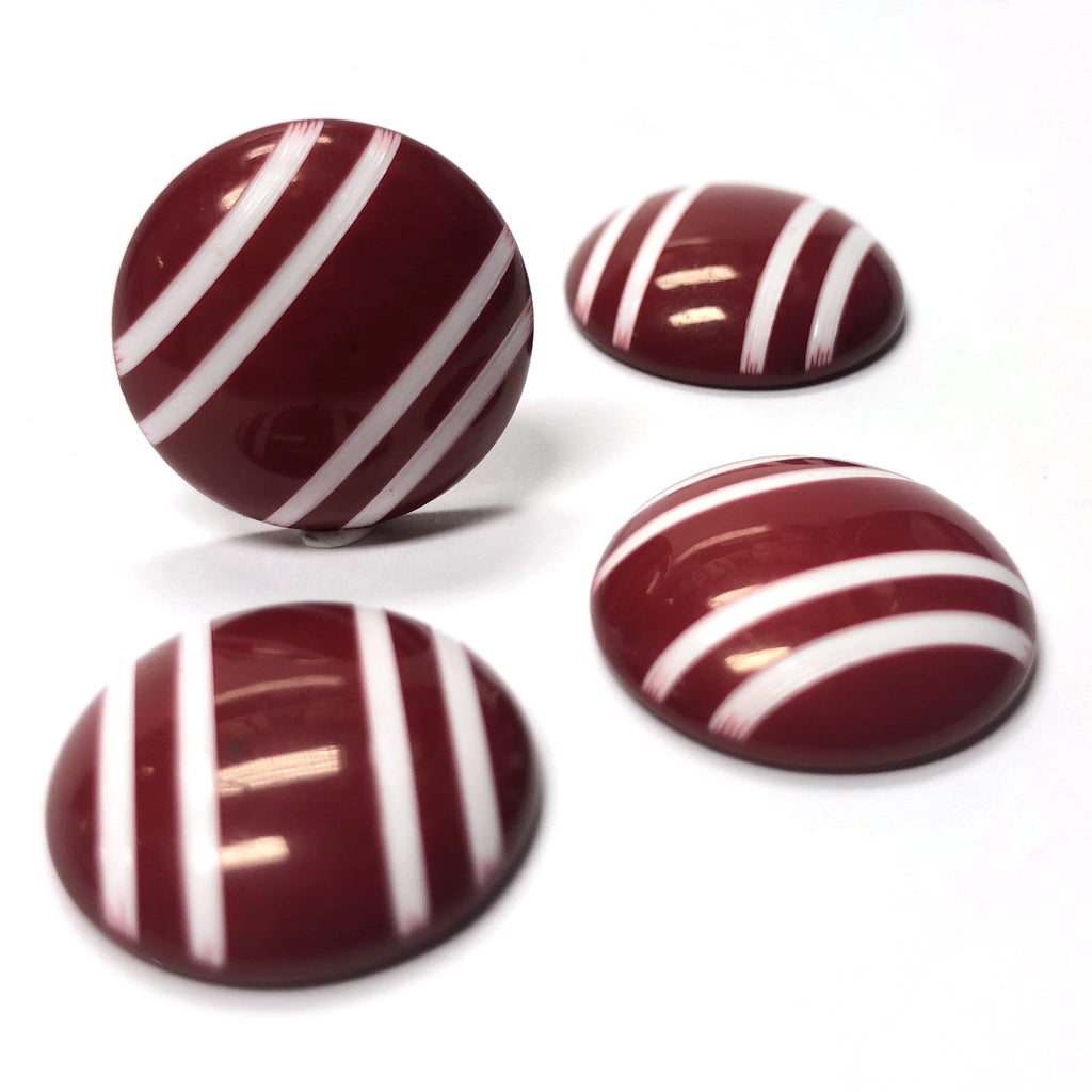 "25MM Red w/""The White Stripes"" Cab (6 pieces)"