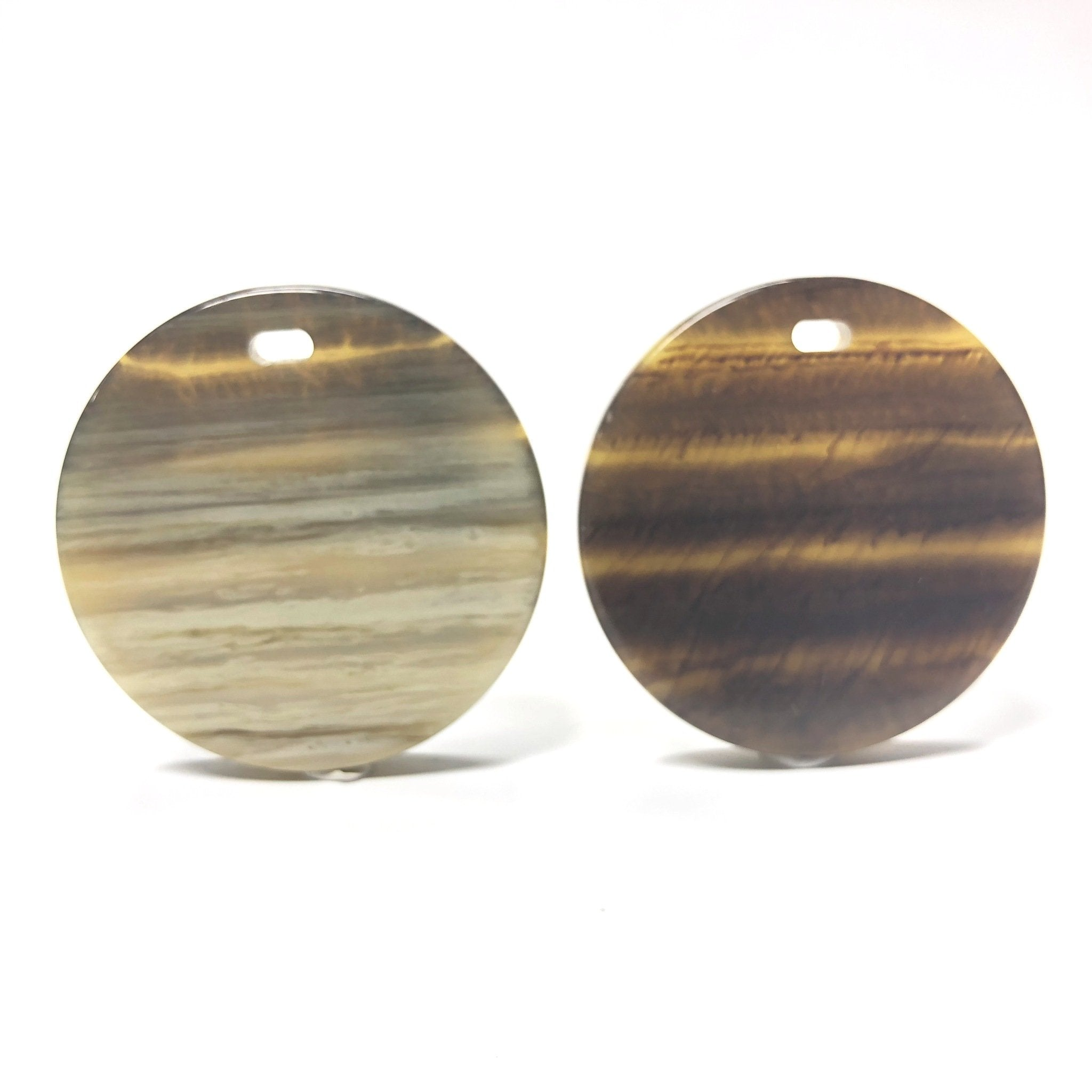 "40MM ""Striped Horn"" Reversible Disc Drop (3 pieces)"