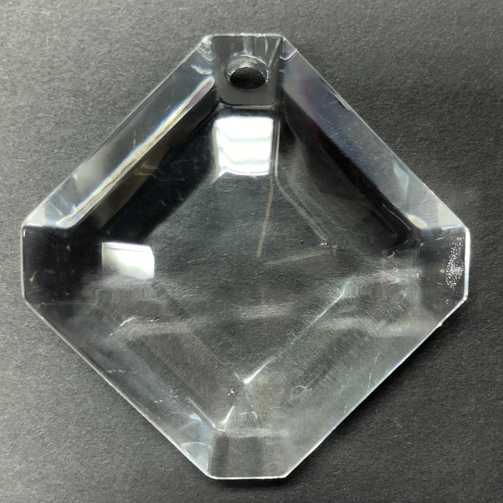 52X52MM Crystal Faceted Diamond Drop (1 piece)