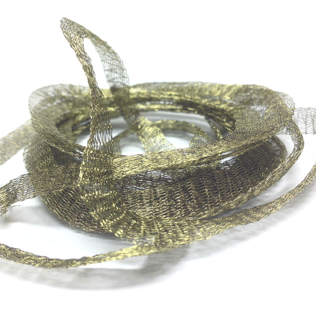6MM Brass Mesh Olive ~ 5 Meters
