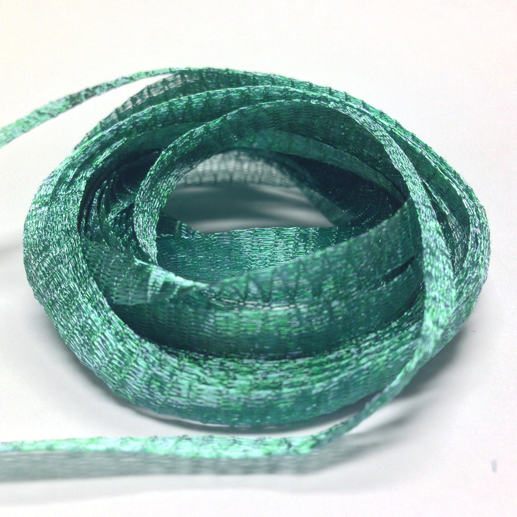 6MM Brass Mesh Turquoise ~ 5 Meters