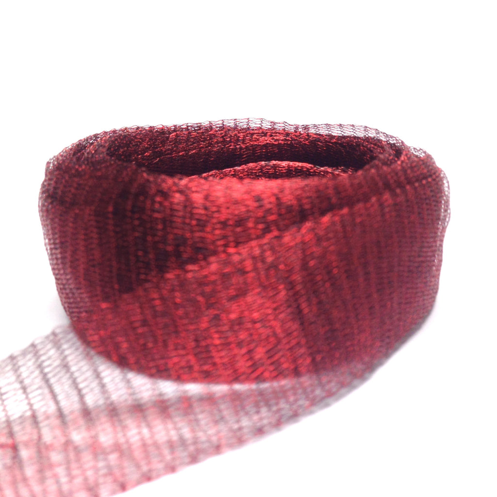 20MM Brass Mesh Garnet ~ 1 Meter