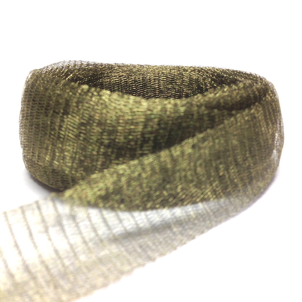 20MM Brass Mesh Olive ~ 1 Meter