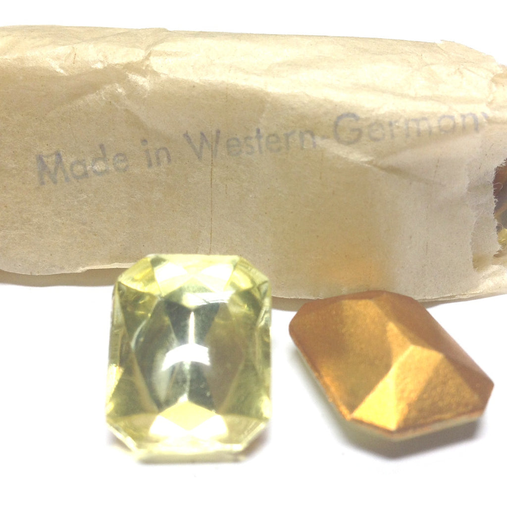 18X13MM Jonquil Octagon Stone (12 pieces)