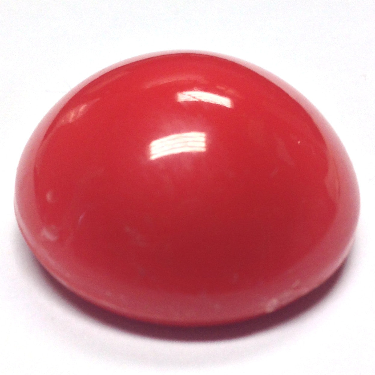 28MM Red High Dome Plastic Cab (12 pieces)