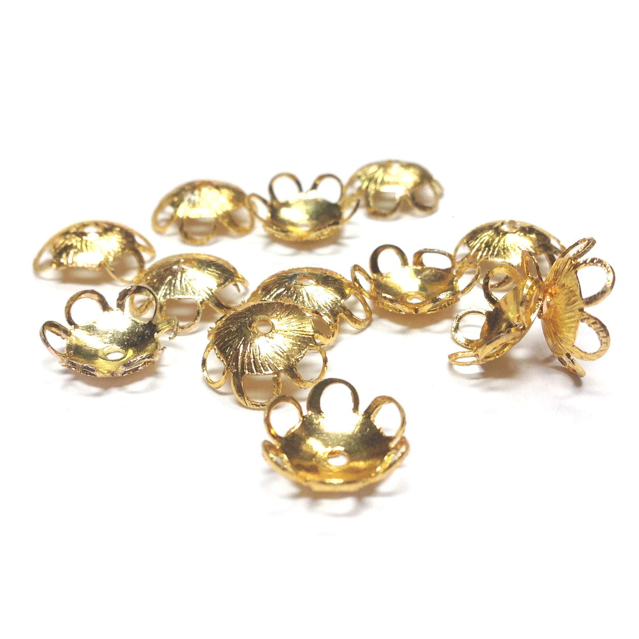 11X3.5MM Goldtone Filigree Cap (36 pieces)