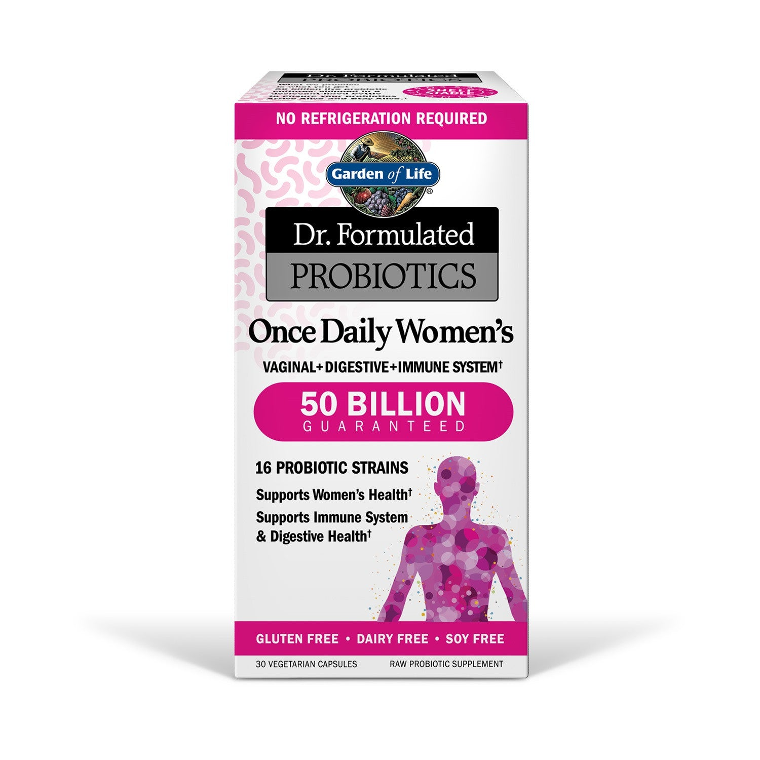 Garden Of Life Dr Formulated Probiotics Once Daily Womens