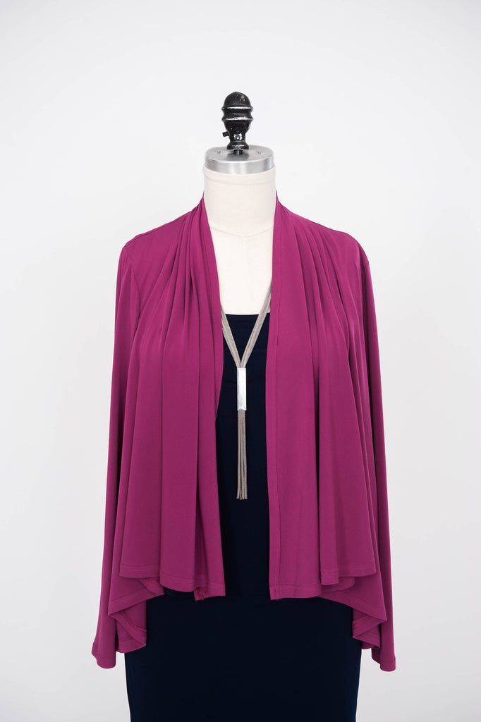 Drape Front Jacket - ali and edi - 2