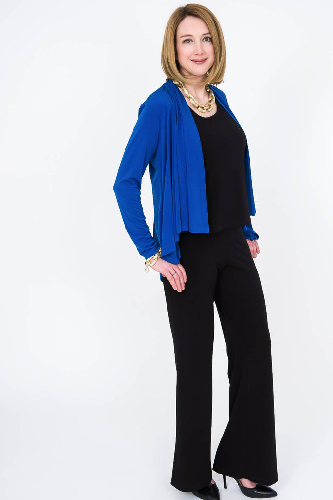 Drape Front Jacket - ali and edi - 1
