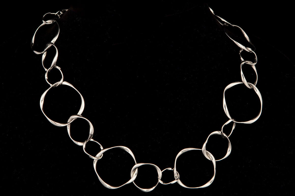 Varied Chain Link Necklace - ali and edi - 1