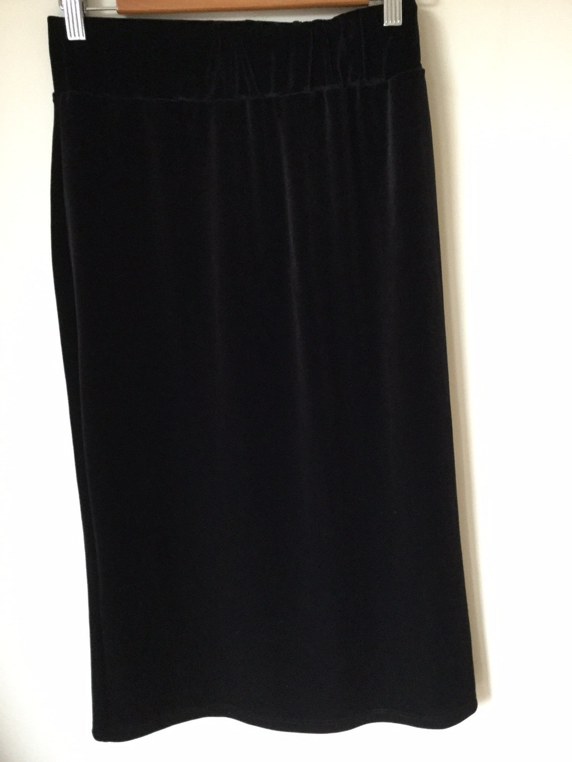 Long Slim Skirt in Velour - ali and edi - 1