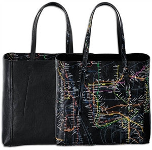 NYC Subway Line Tote Bag - ali and edi - 1