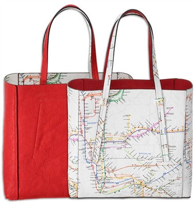NYC Subway Line Tote Bag - ali and edi - 2