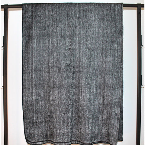 Alpaca Blanket: Basics - Dark Grey
