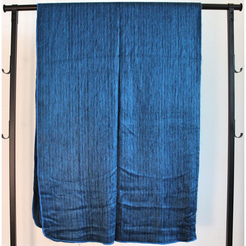 Alpaca Blanket: Basics - Electric Blue