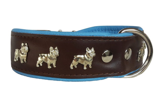 Collar - Brown French Bulldog Collar (2 Colour Options)