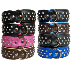 Collar - Diamond Dog Collar - Wide