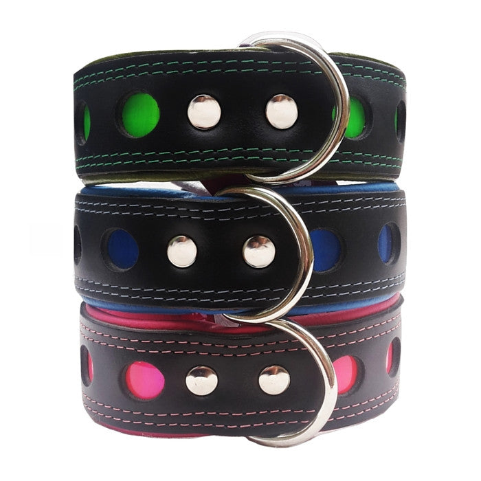 Reflective Collar - Wide Neon