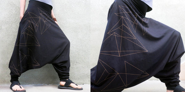 glorka cosmic path collection harem pants