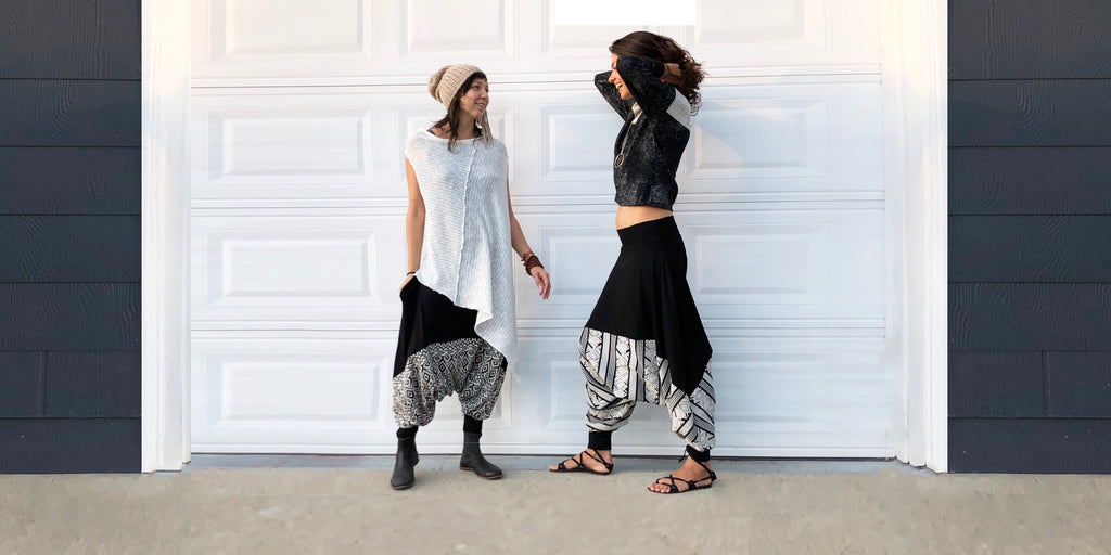 glorka harem pants city look