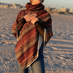 Red Totem/Winter Poncho