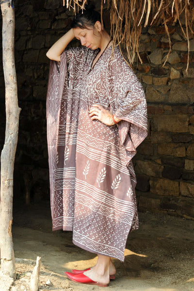 Purple Mud | Summer Kaftan