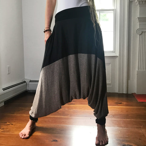 Coal and Earth | Unisex Harem Pants