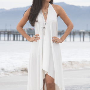 glorka white dress