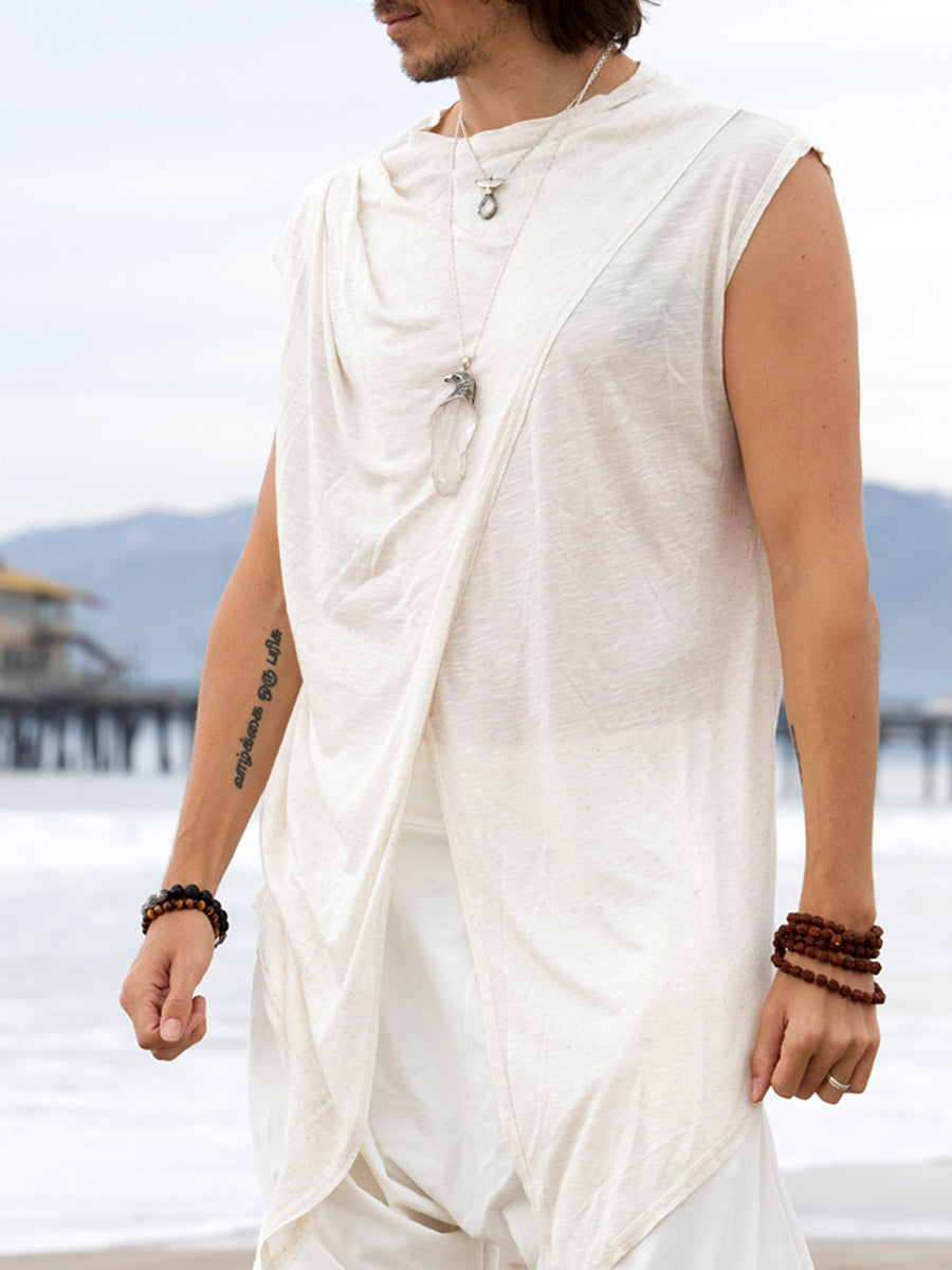 Ivory White | Jedi Mens Top