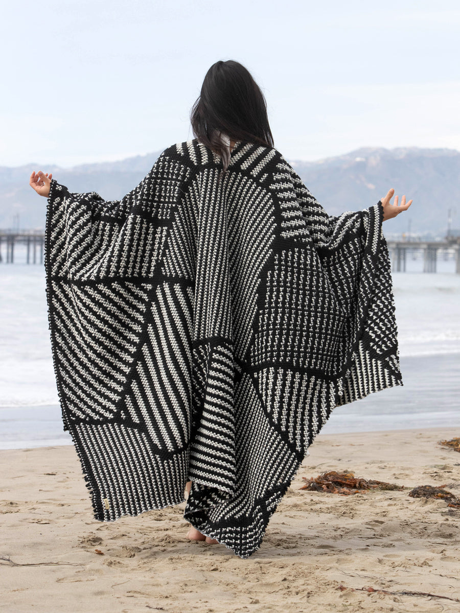 Ayla | Winter Poncho | Her