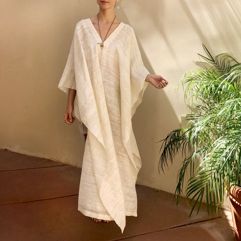 Serene | Raw Silk Tunic